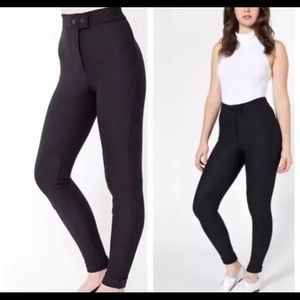 Riding Pant by American Apparel. Black Size Small